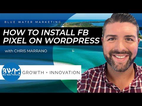 How To Set up The Facebook Pixel On WordPress 2020 (Walkthrough)