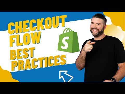 eCommerce Checkout Flow Best Practices
