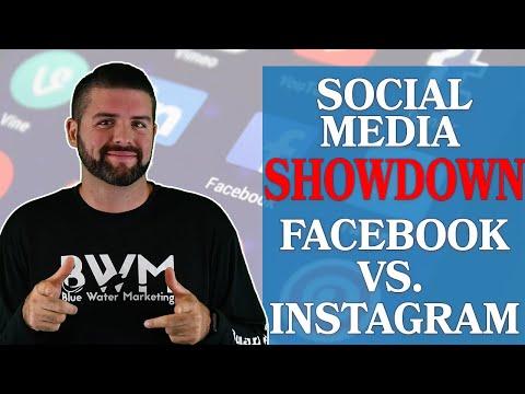 Social Media Showdown Facebook vs Instagram