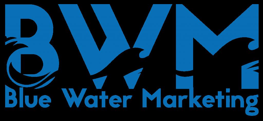 blue water marketing logo