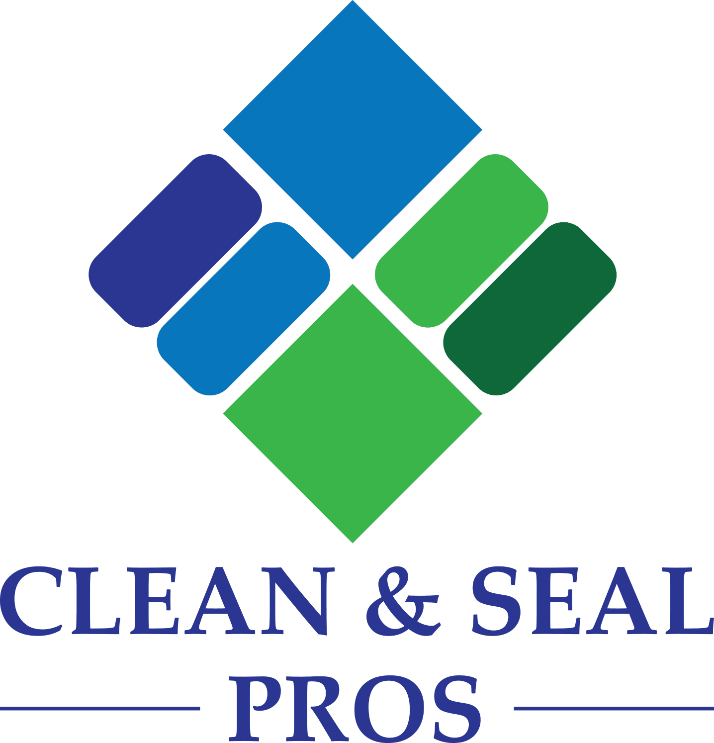 clean and seal pros vertical logo
