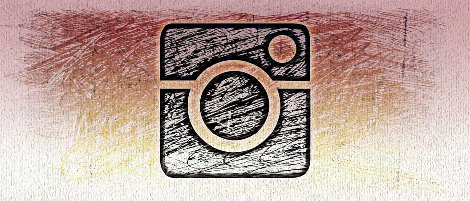 sketched instagram logo