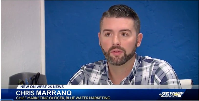Chris Marrano - chief marketing officer of blue water marketing