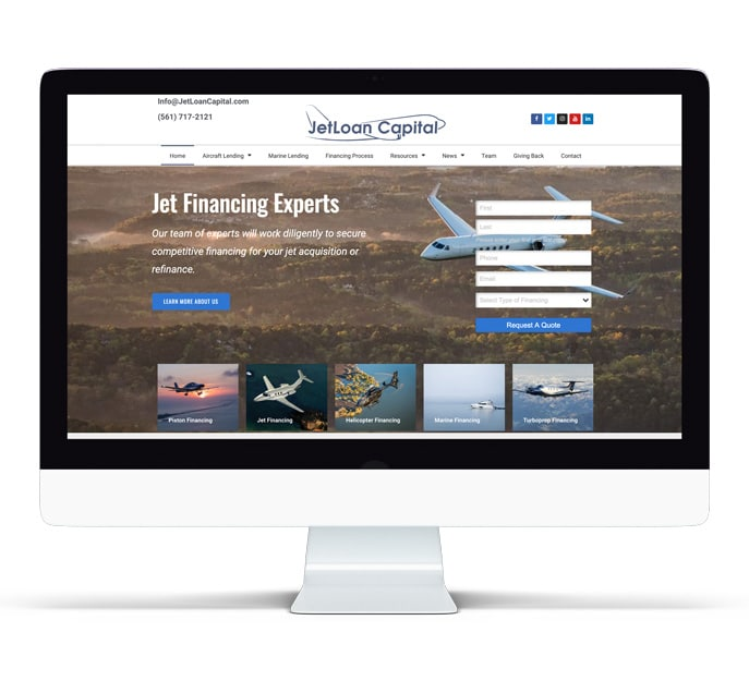 jetloan capital website