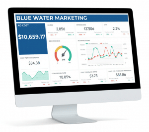 Blue Water Marketing Ads